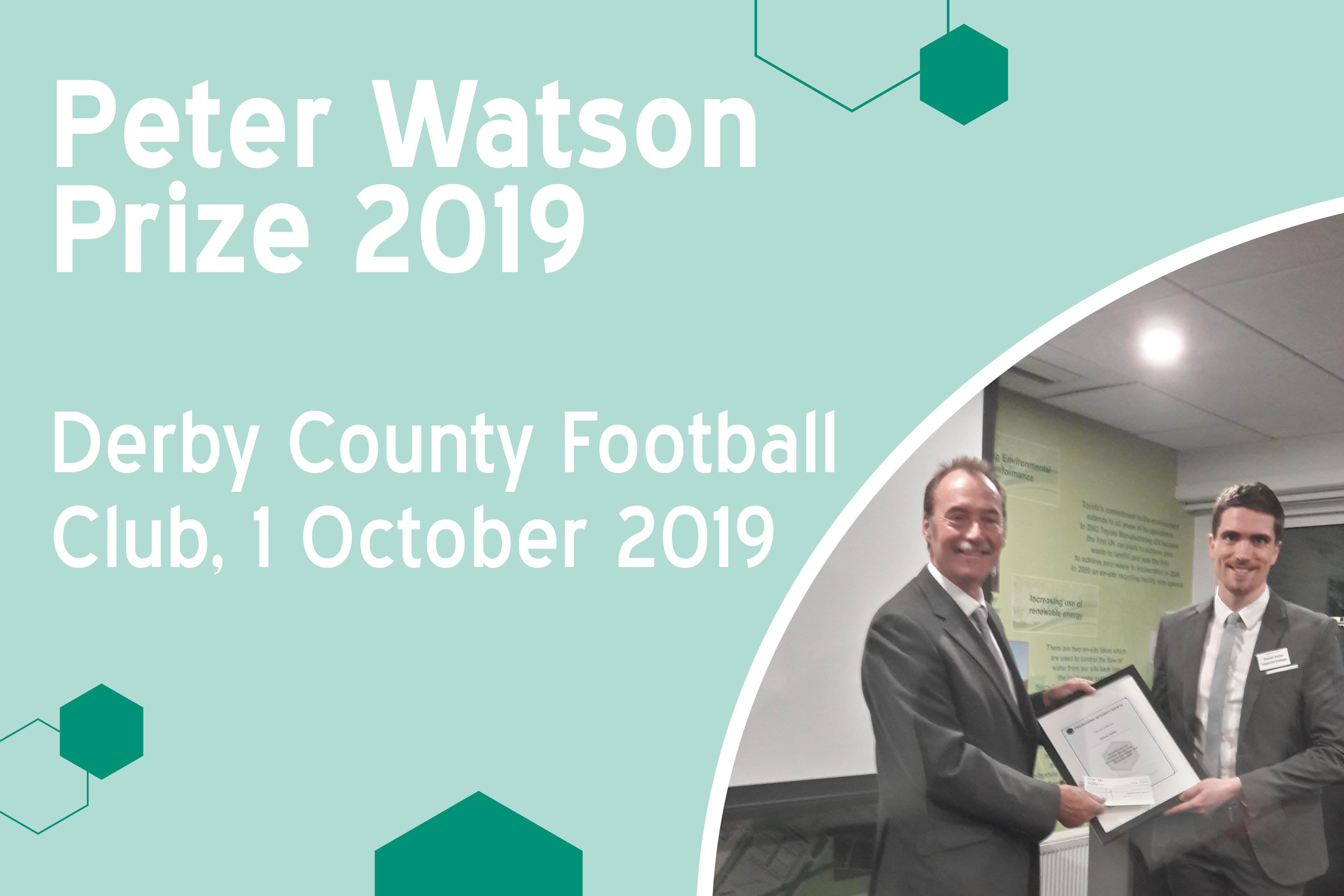 20191001 Peter Watson Prize