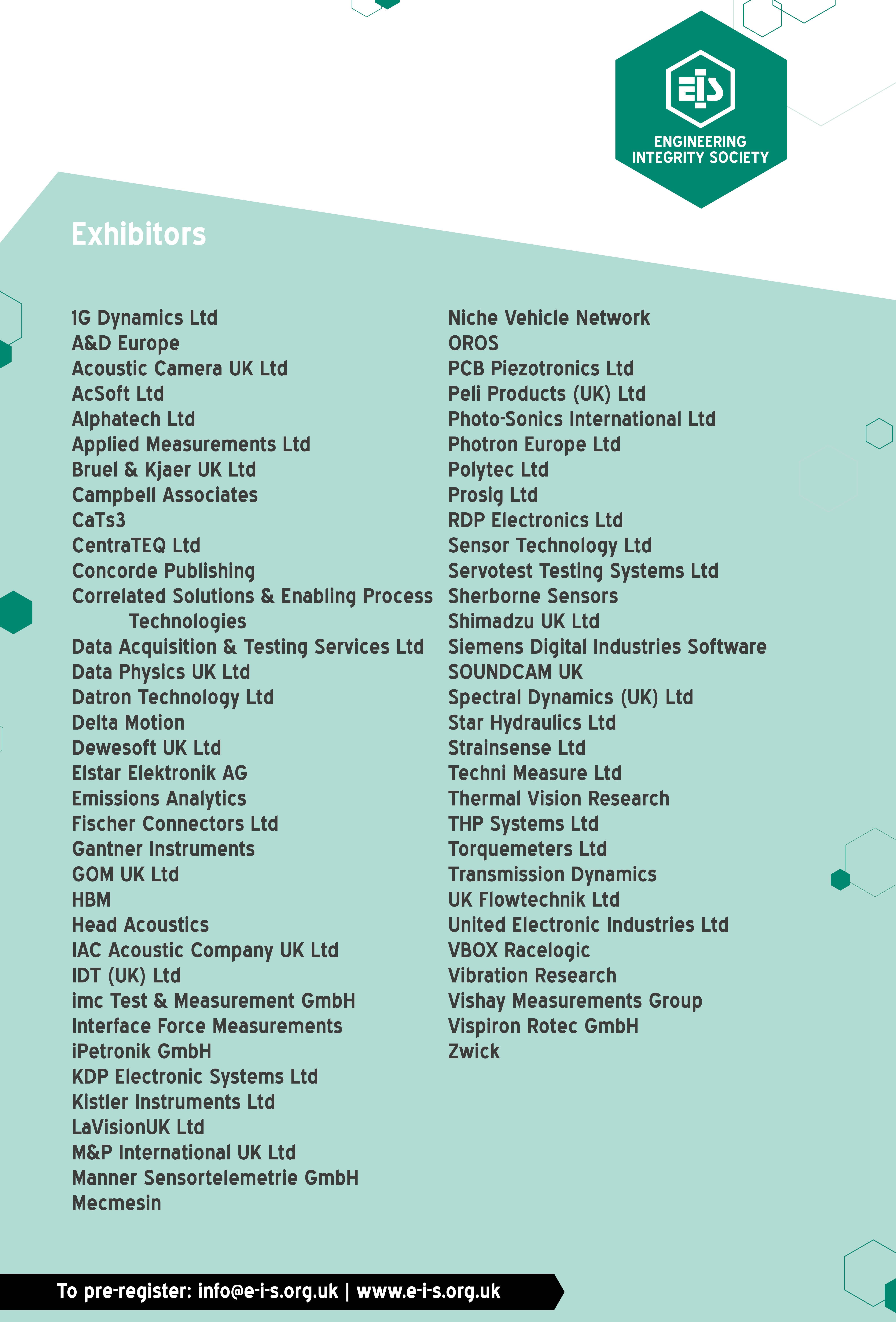 20200309 Exhibitor List